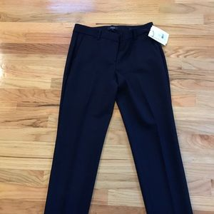 Theory NWT Wool Navy trousers/pants Sz 4